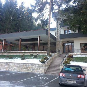 Балкана, улаз у хотел