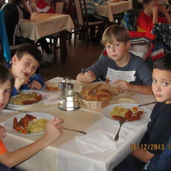 Балкана, четврти дан - доручак