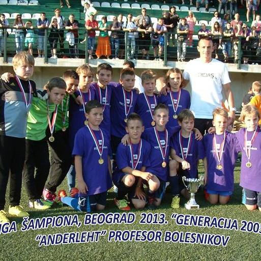 1 - Generacija 2002. nakon osvojene Lige šampiona u Beogradu - avgust 2013. godine
