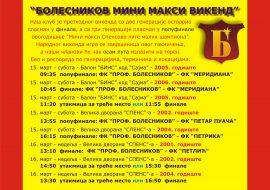 Болесников Мини-макси викенд