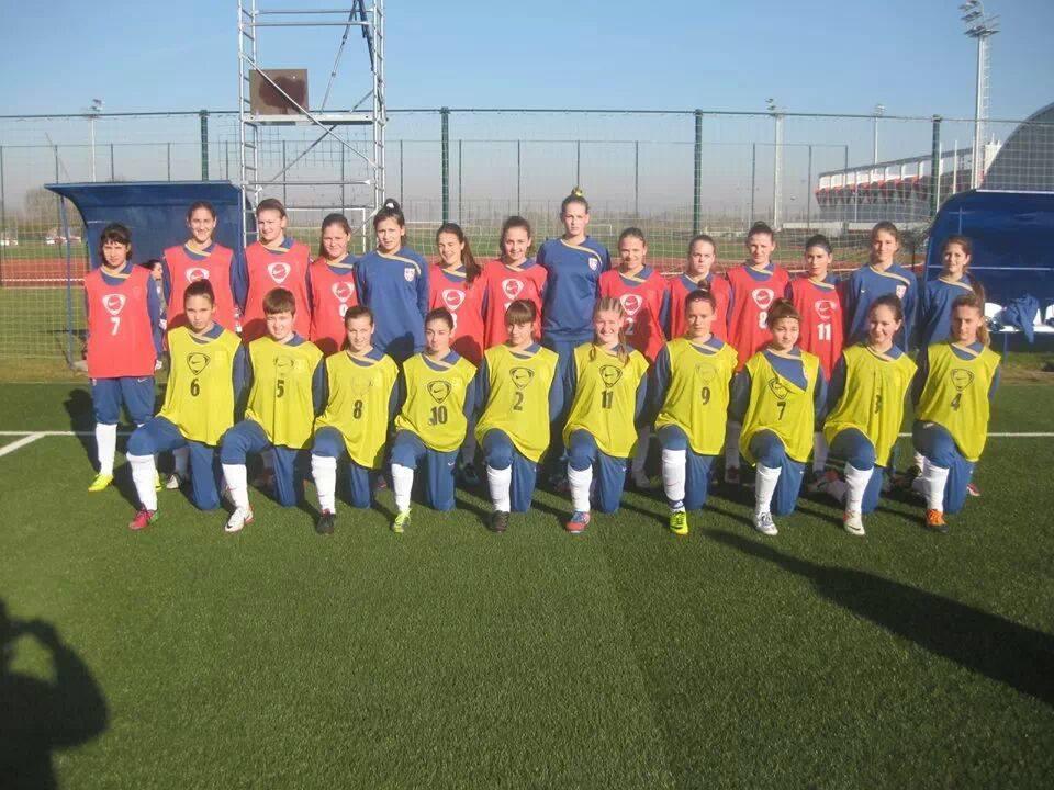 Женска репрезентација Србије У-16