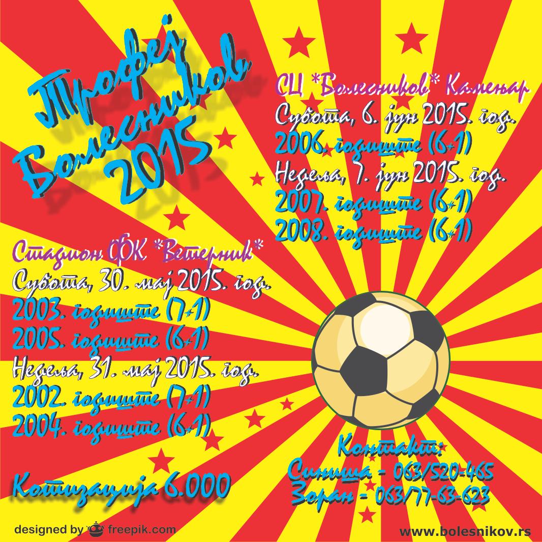Trofej Bolesnikov2015 – 2