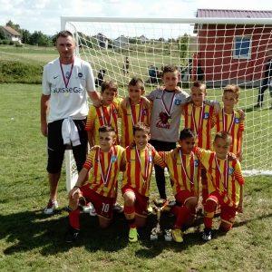 2008. годиште је на турниру у Руменци освојило прво место